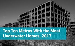 Top Ten Metros Underwater Homes